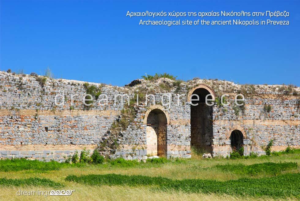 Ancient Nikopolis in Preveza Epirus. Discover Greece