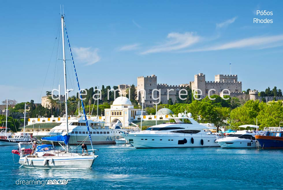 Discover Rhodes island Dodecanese. Vacations Greece
