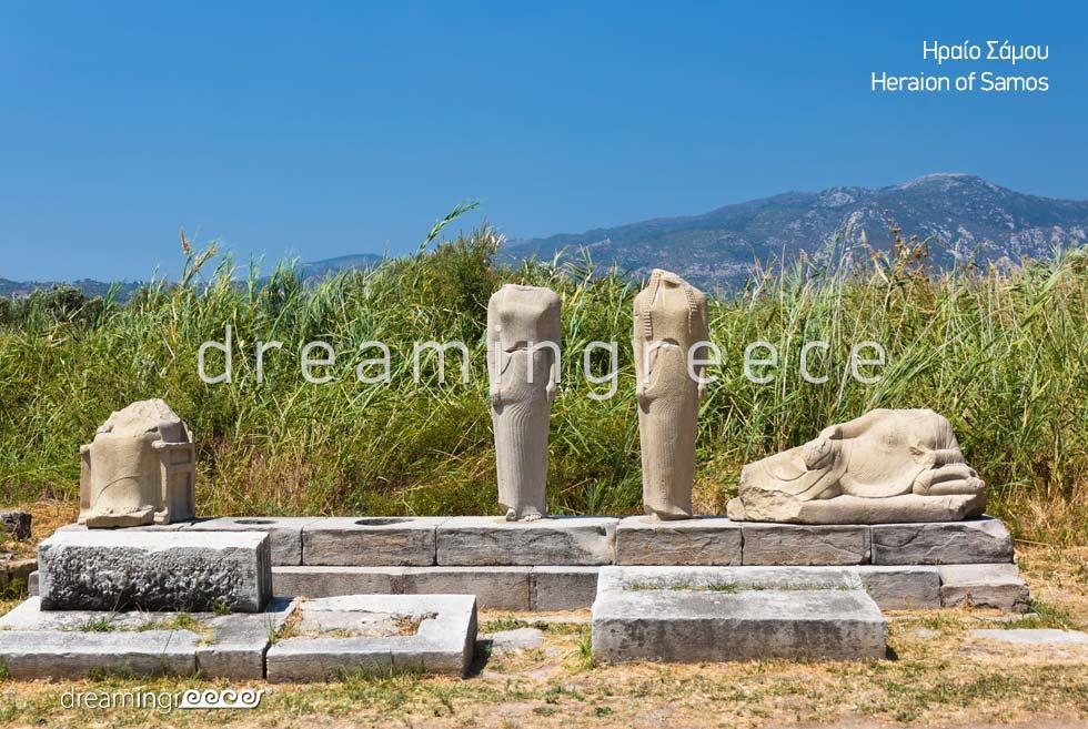 Heraion of Samos island Northeastern Aegean Islands Greece