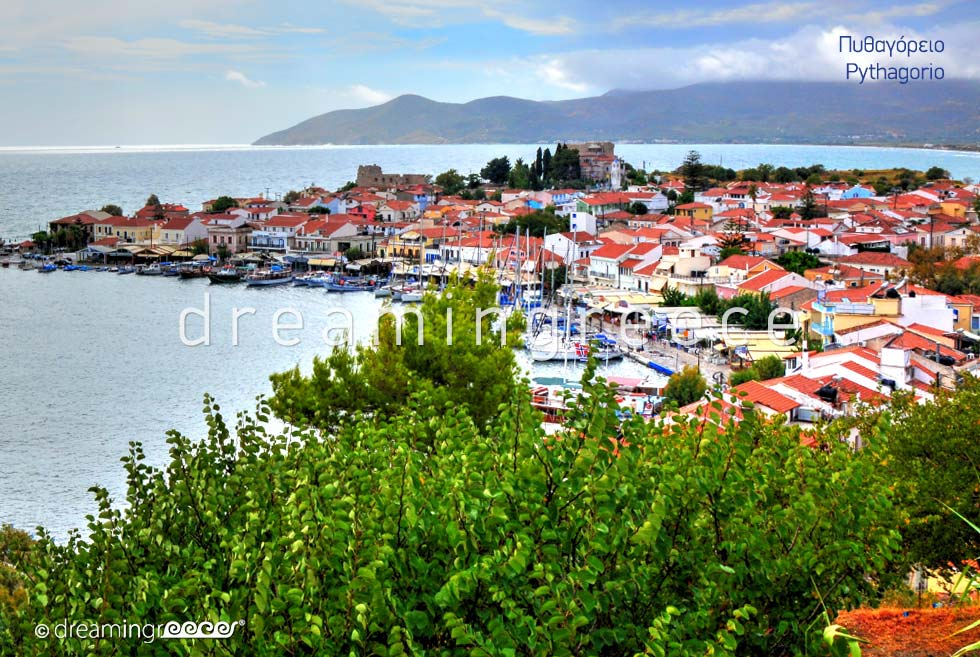 Discover Pythagorio Samos island Northeastern Aegean Islands Greece