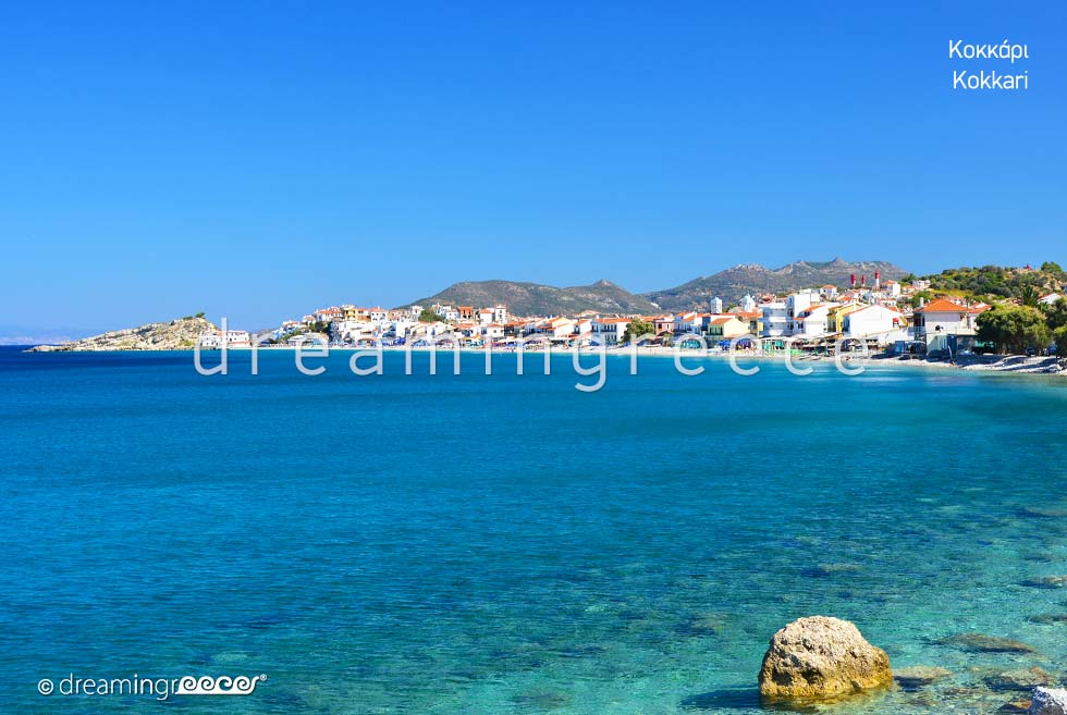Discover Kokkari Samos island Northeastern Aegean Islands Greece