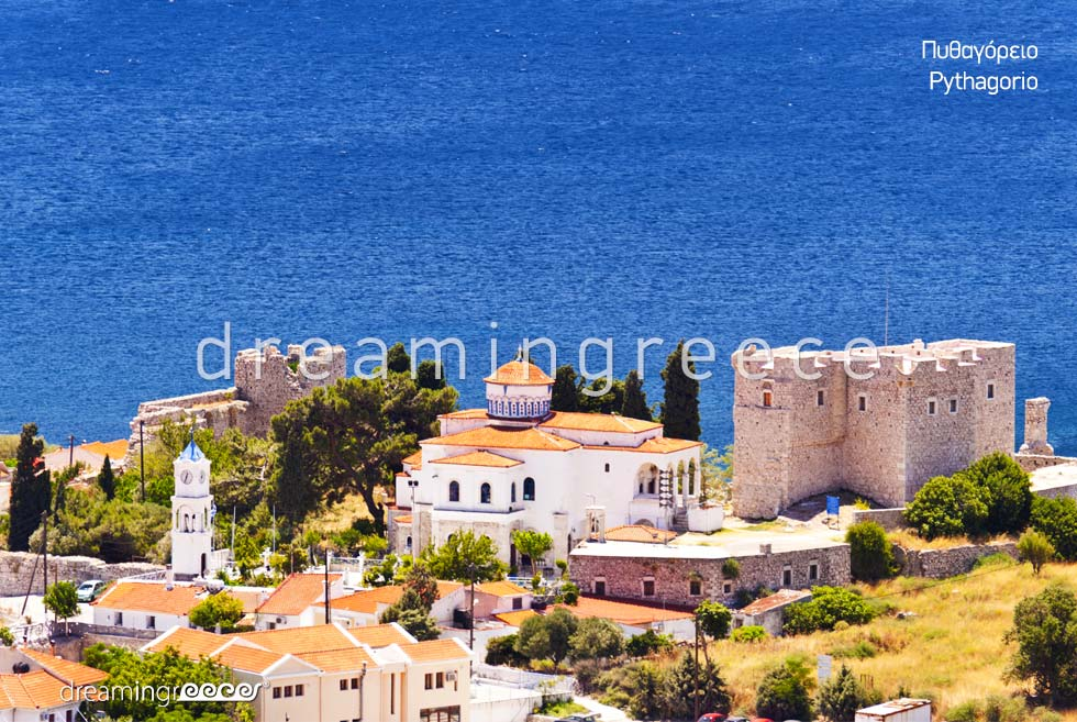 Pythagorio Samos island Northeastern Aegean Islands Greece