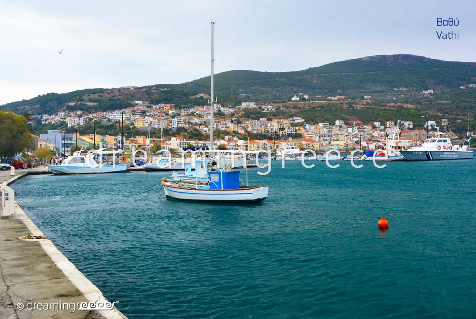 Vathi Samos island Travel Guide of Greece