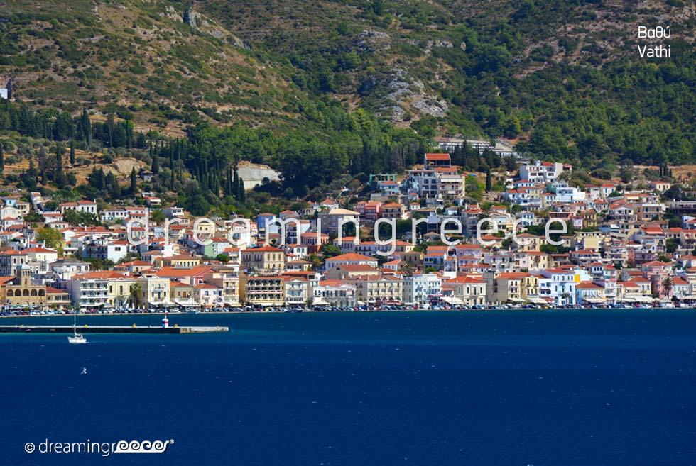 Vacations in Vathi Samos island Northeastern Aegean Islands Greece