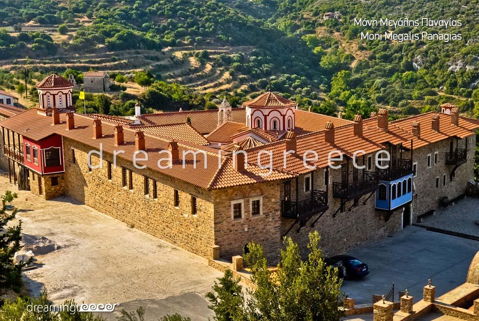 Moni Magalis Panagias Samos island Northeastern Aegean Islands Greece