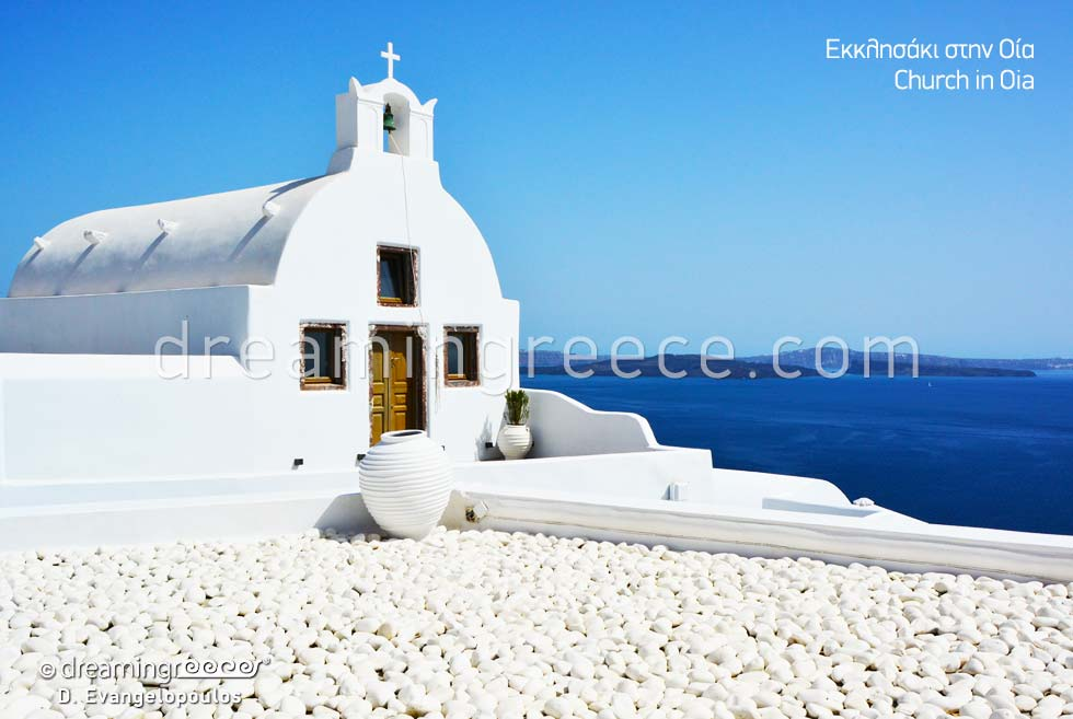 Oia Santorini island. Discover Greece.Greek islands.