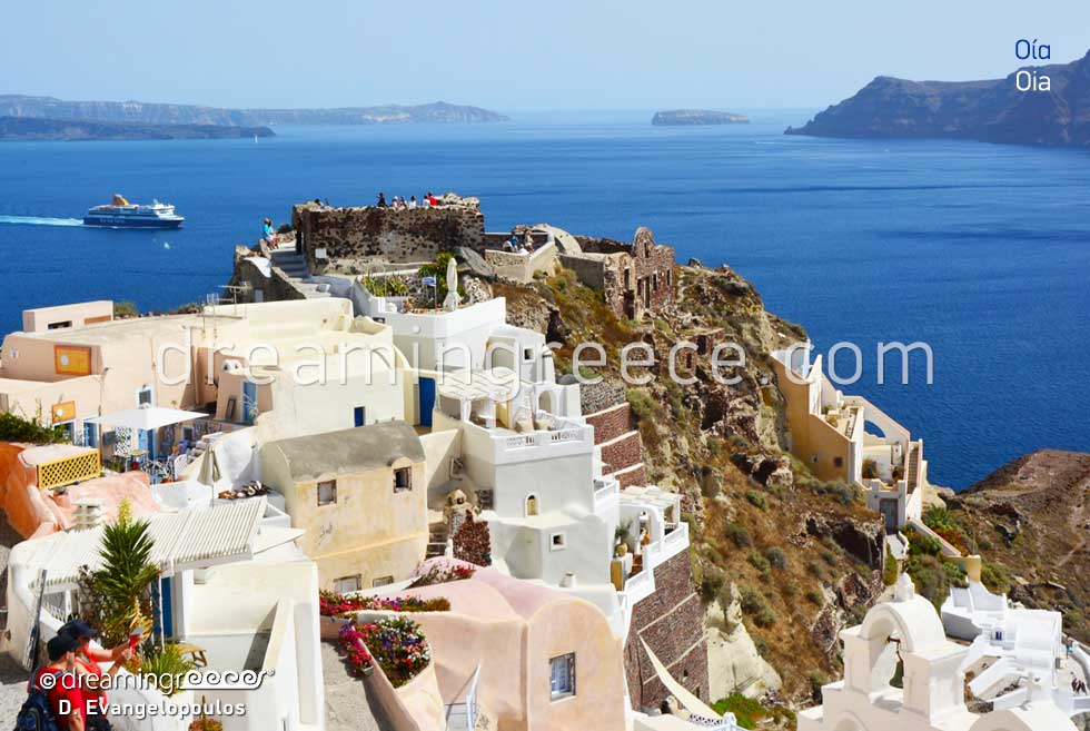 Summer Holidays in Oia Santorini Greece Greek islands