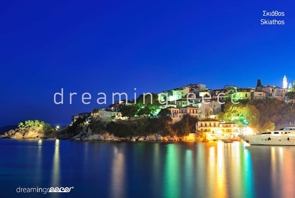 Vacations Skiathos island Tourist Guide Sporades Islands Greece