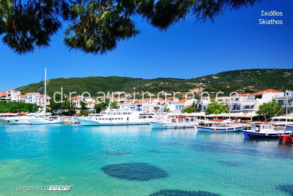 Discover Skiathos island Sporades Islands Greece