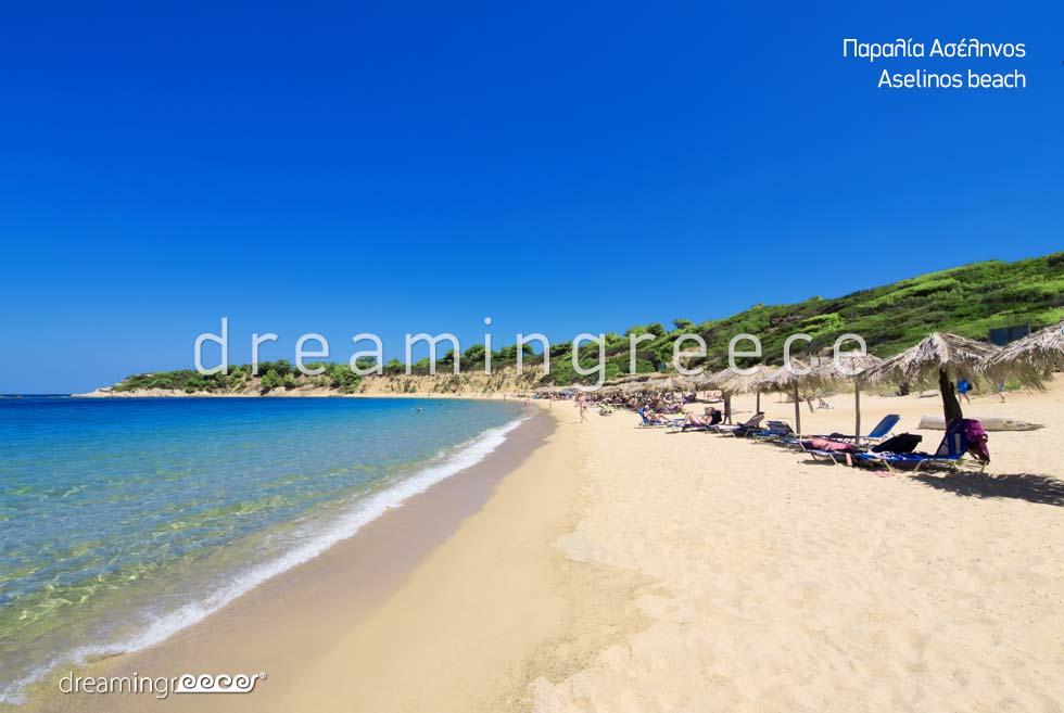 Aselinos beach. Holidays in Skiathos island greece. Skiathos Beaches.