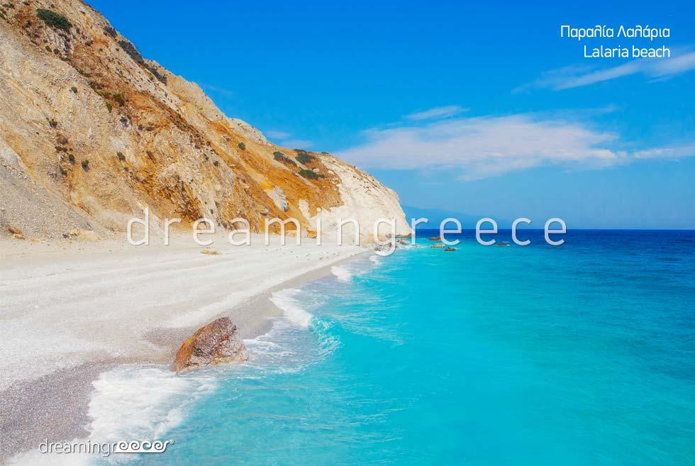 Skiathos Beaches. Lalatia beach.