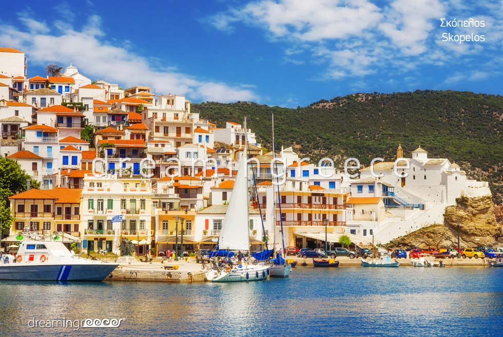 Visit Skopelos island Sporades Islands Greece