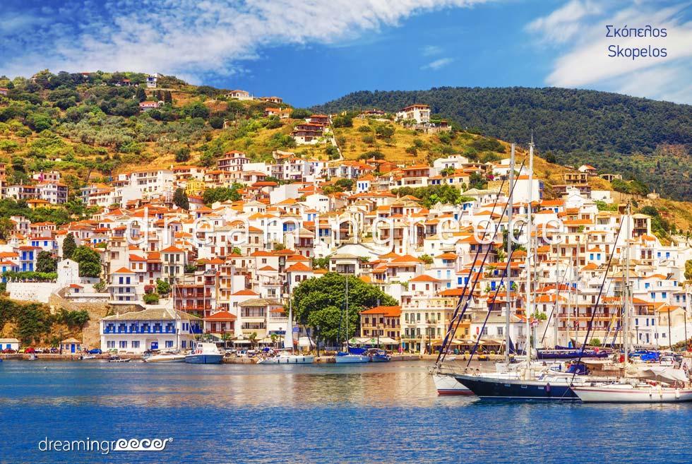Travel Guide Skopelos island Sporades Islands Greece