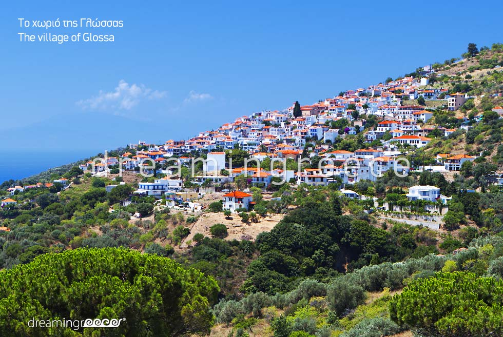 Glossa Village Skopelos island Sporades Islands Visit Greece