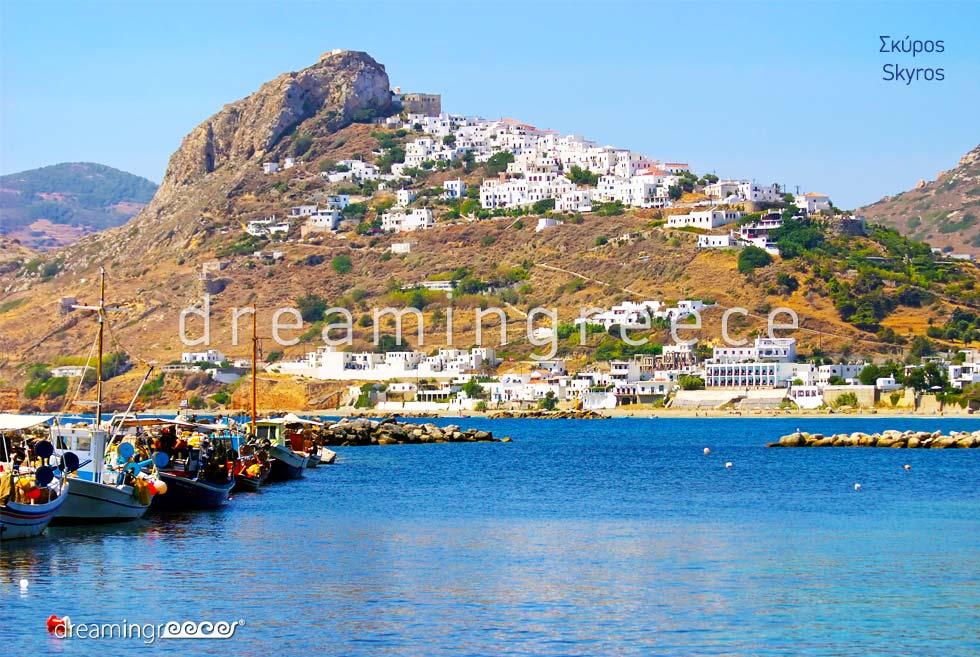 Tourist Guide of Skyros island Sporades Islands Greece