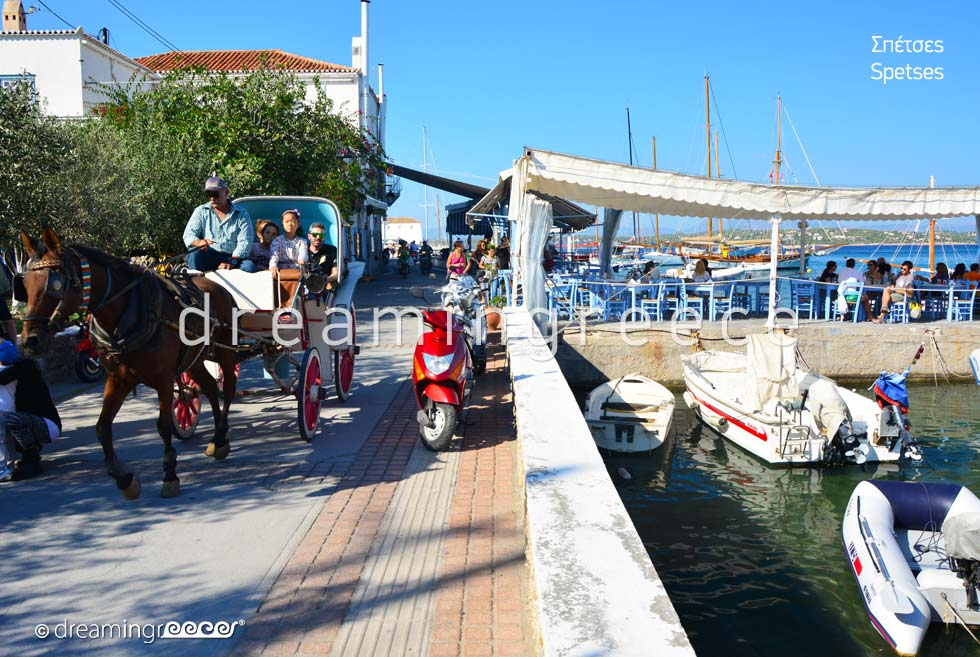Vacations in Spetses island Greece Argosaronic islands