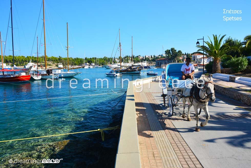 Explore Spetses island Greece Argosaronic islands