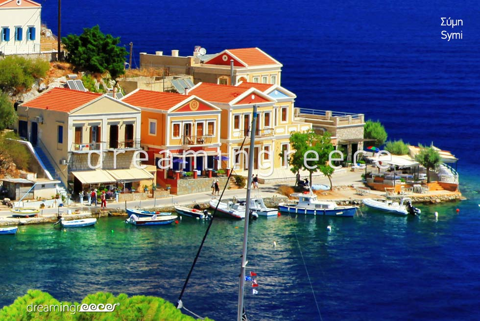 Discover Symi island in the Dodecanese Greece