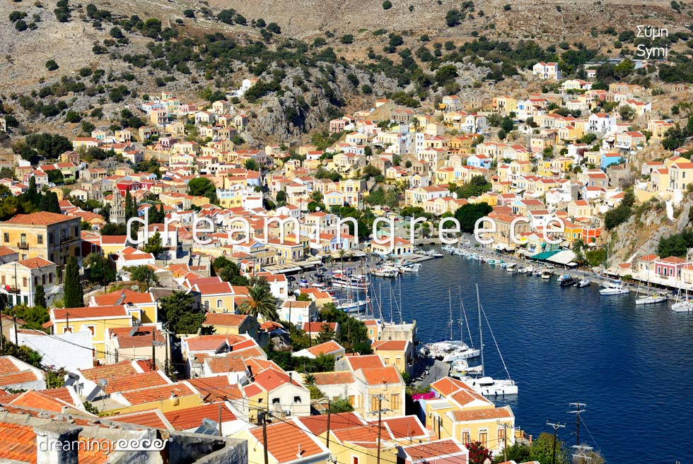 Symi island Tourist Guide Dodecanese Greece