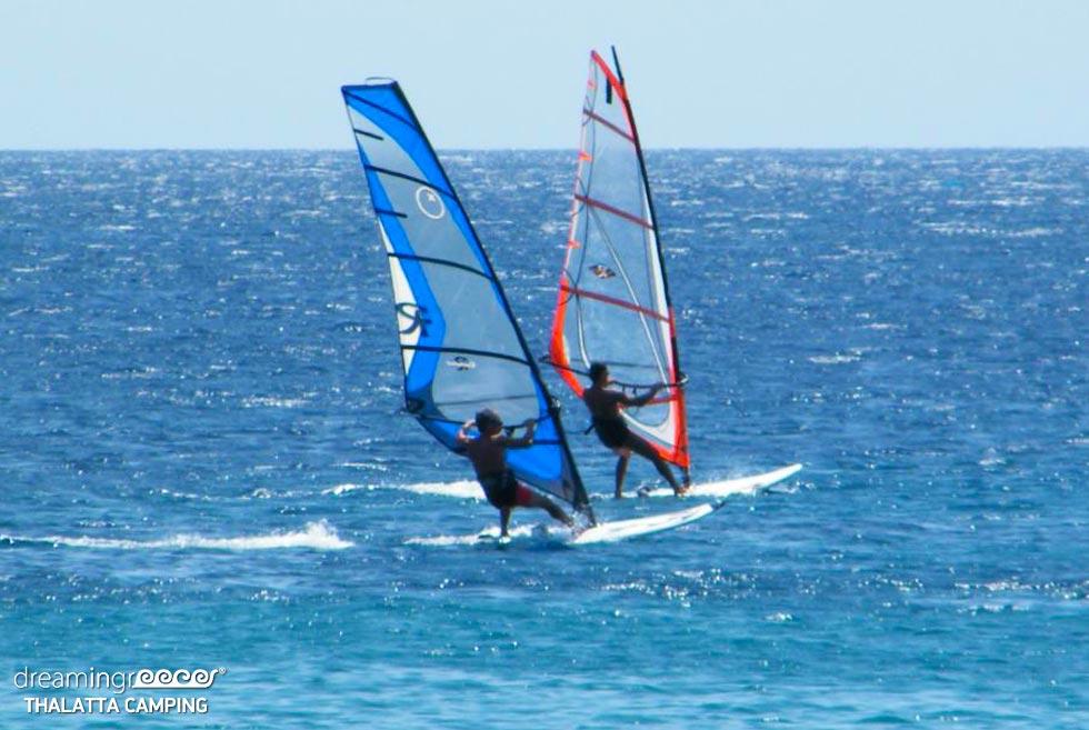 Surfing Thalatta Camp Greece. Activities in Greece.