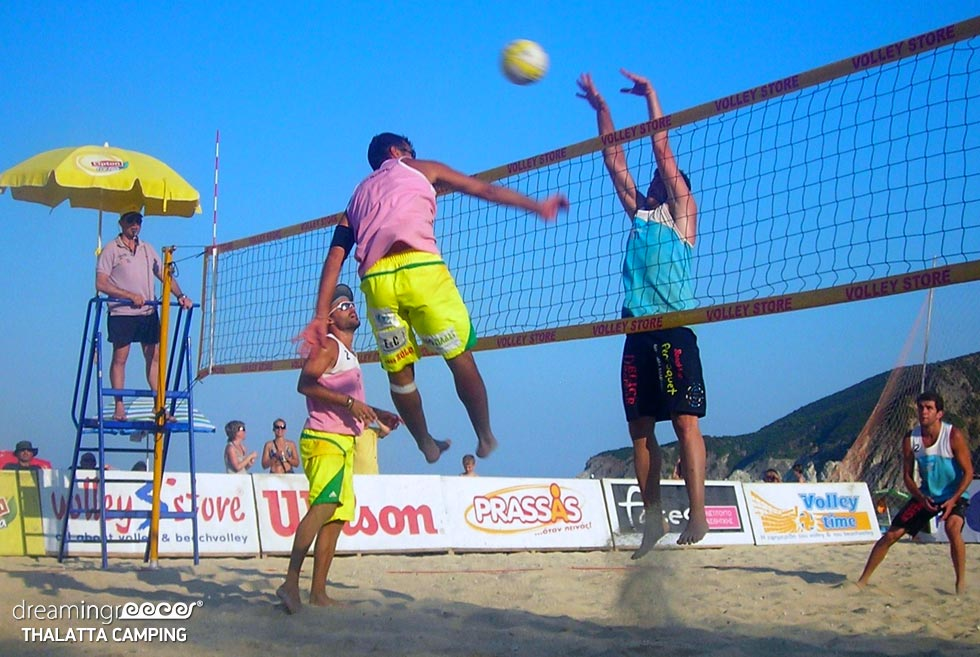 Volleyball Thalatta Camping Halkidiki