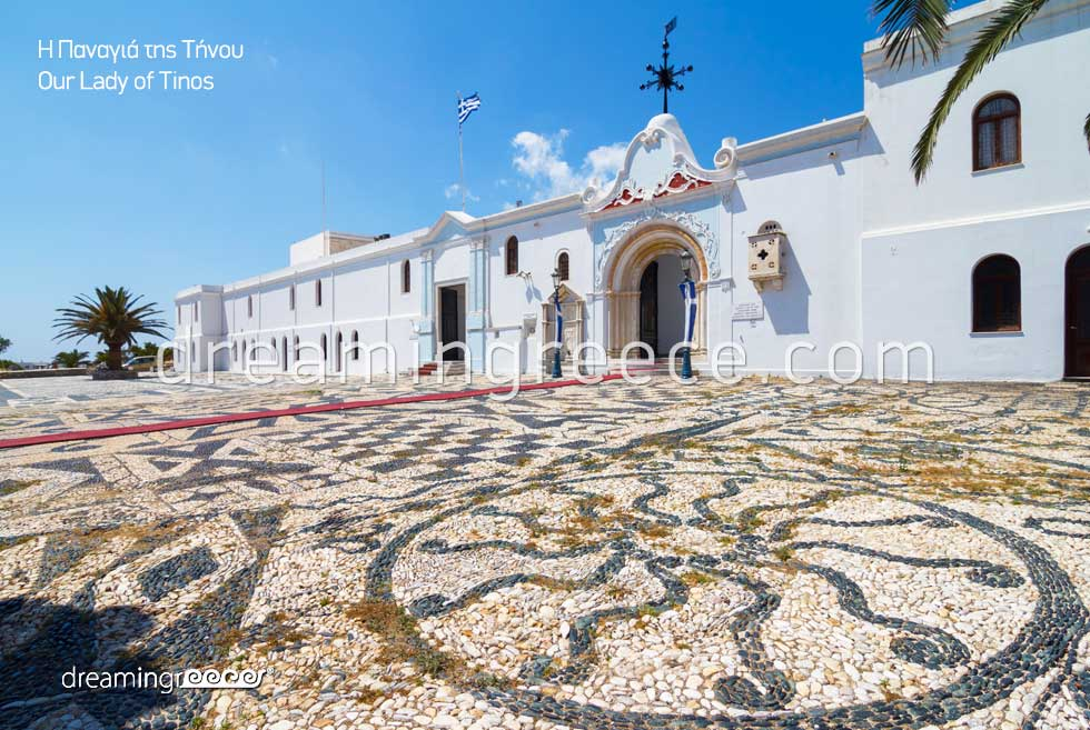 Our Lady of Tinos. Discover Greece. Holidays in greece.