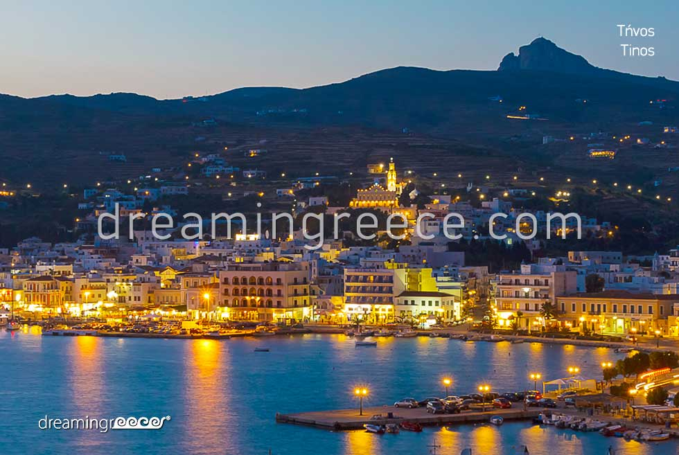 Travel Guide of Tinos island Greece. Vacations in greece.