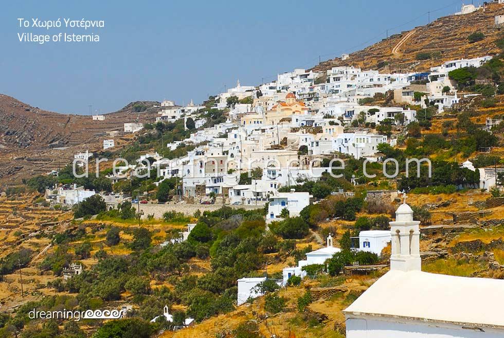 Isternia Village Tinos. Visit Greece. Tinos island.