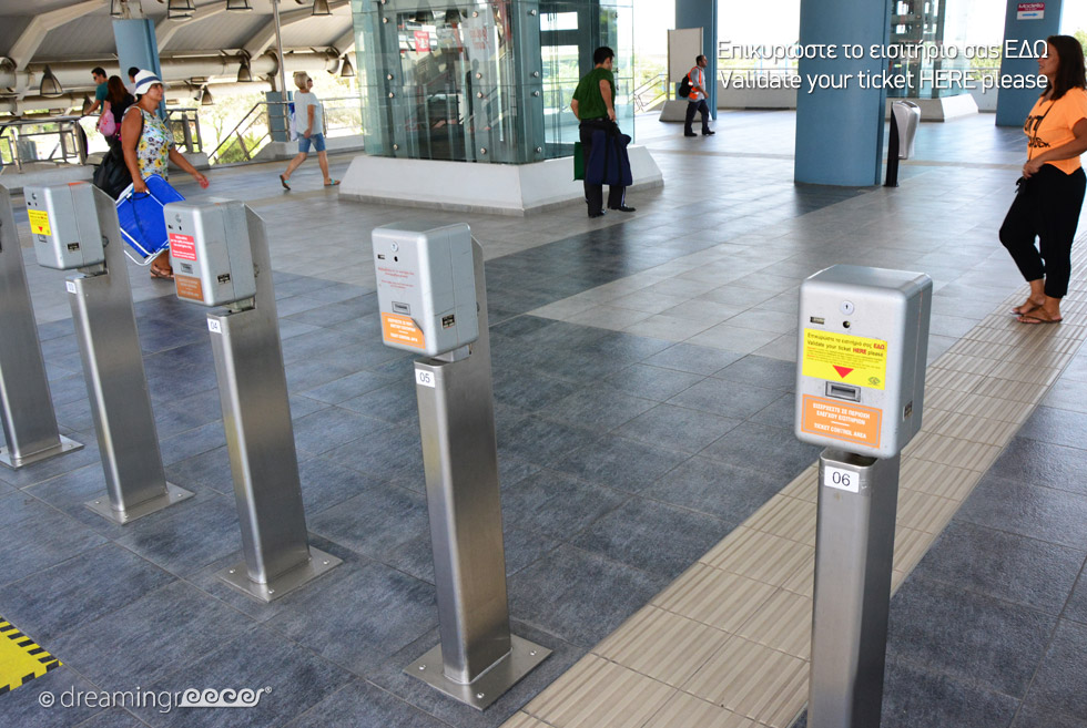 Ticket Control Validate Athens Greece