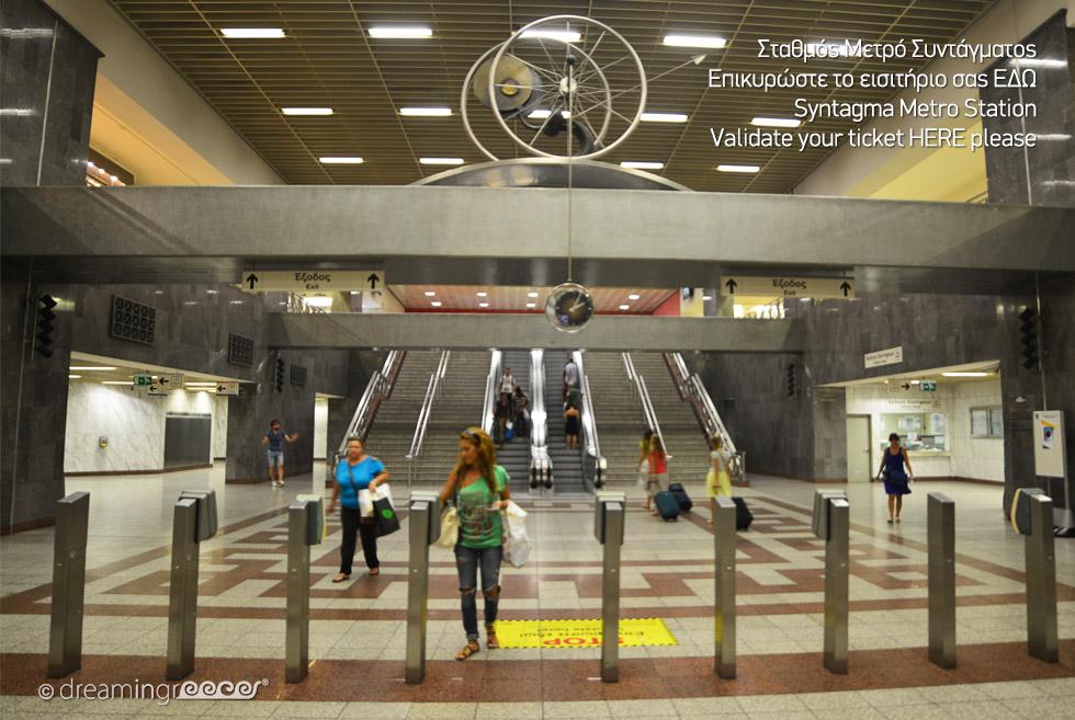 Syntagma Station Athens Greece