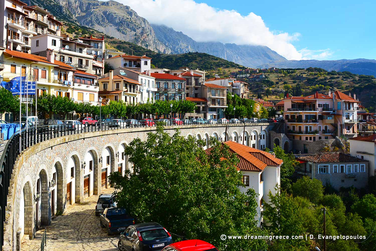 Winter Holidays in Arachova Central Greece