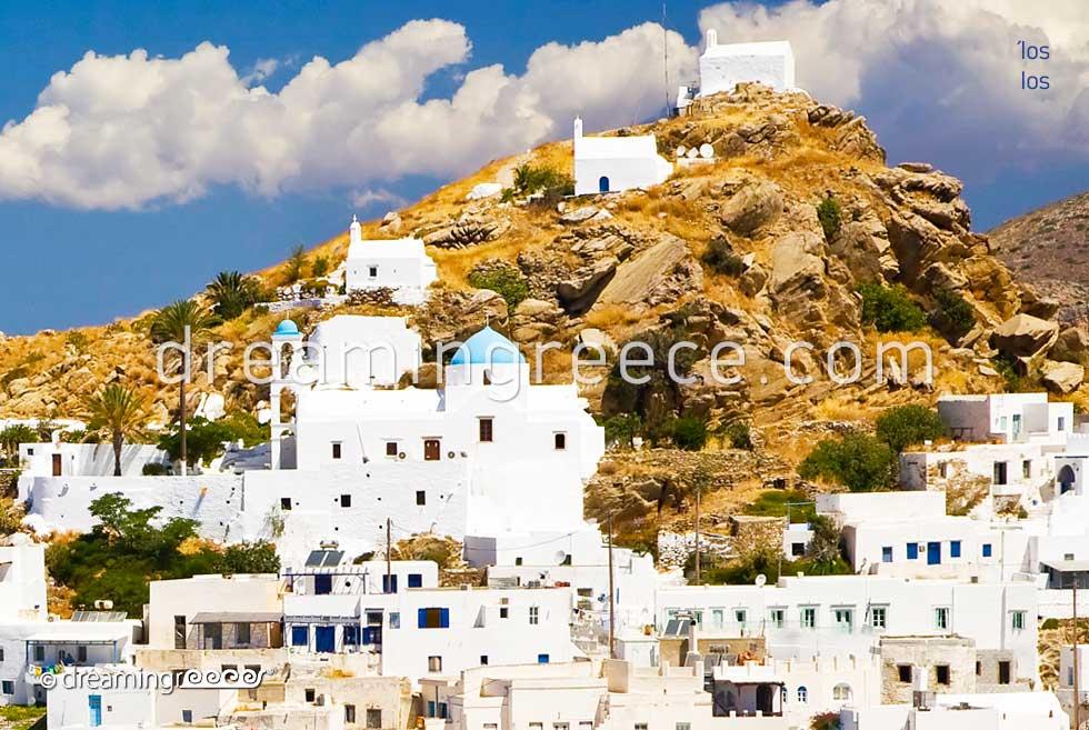 Ios island. discover Greece Cyclades islands