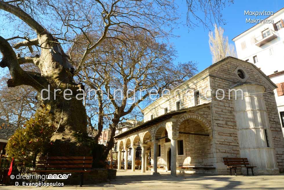 Holidays in Makrinitsa Pelion. Travel Guide Pelion Greece.