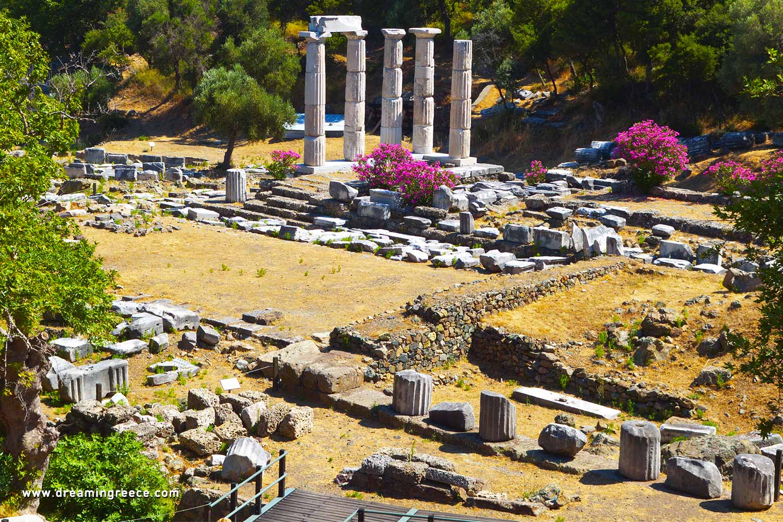 Holidays in Samothrace island Northeastern Aegean Islands Greece