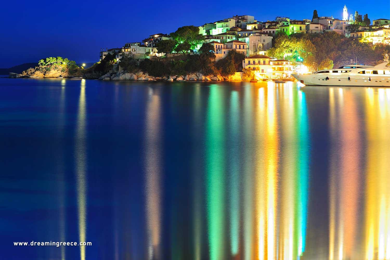 Holidays in Skiathos island Sporades Islands Greece