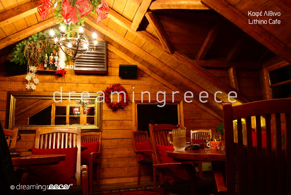 Lithino Cafe Trikala of Corinth Peloponnese Greece