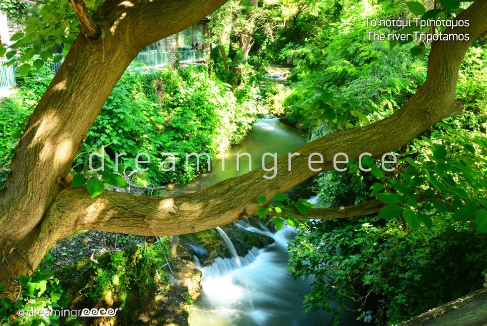 River Tripotamos. Visit Veria Greece.