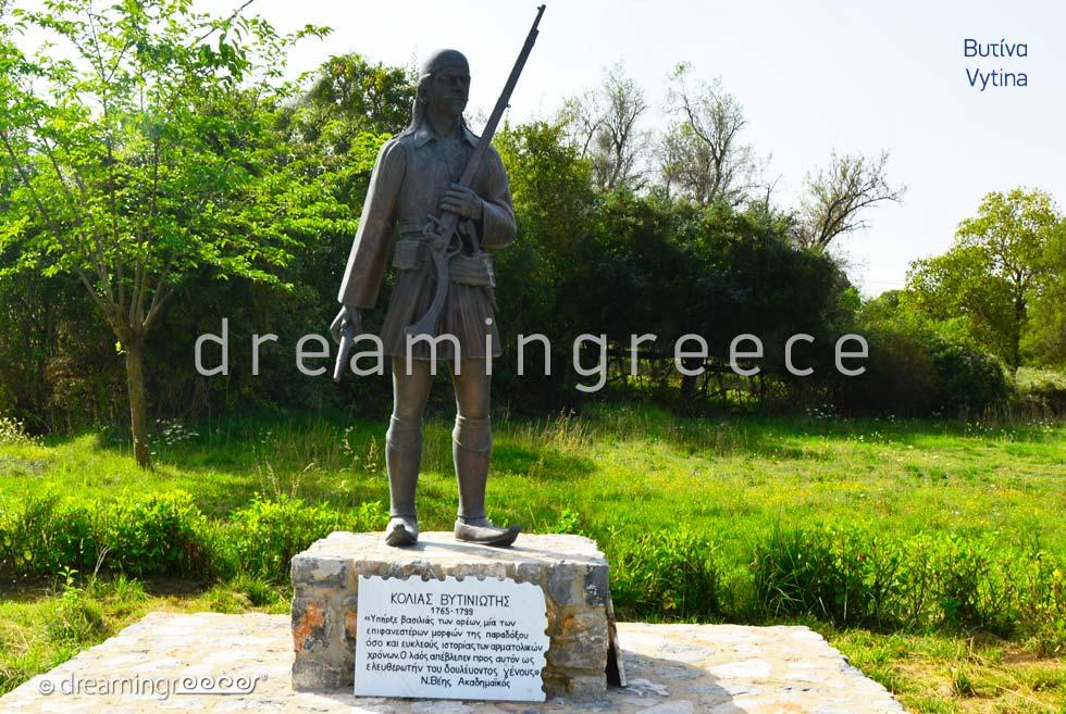 Vytina Arcadia Peloponnese Vacations in Greece