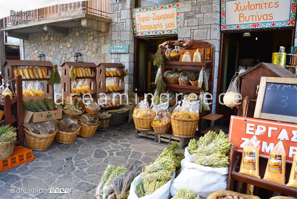 Holidays in Vytina Arcadia Peloponnese Greece