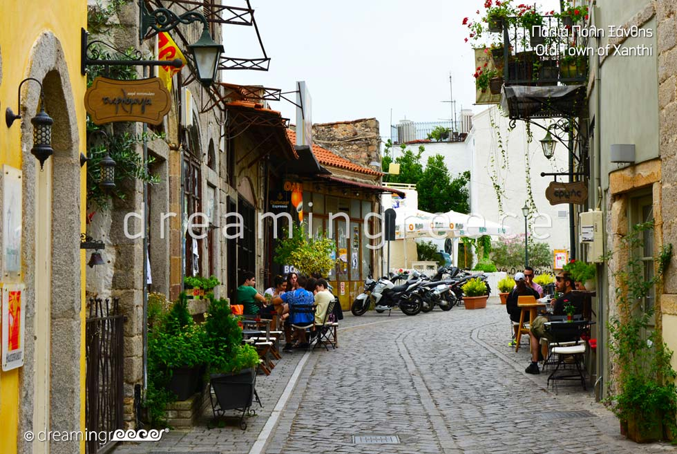 Old town Xanthi Eastern Macedonia and Thrace. Tourist Guide Greece