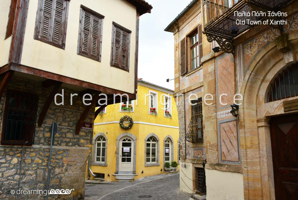 Old town Xanthi Eastern Macedonia and Thrace. Holidays in Greece