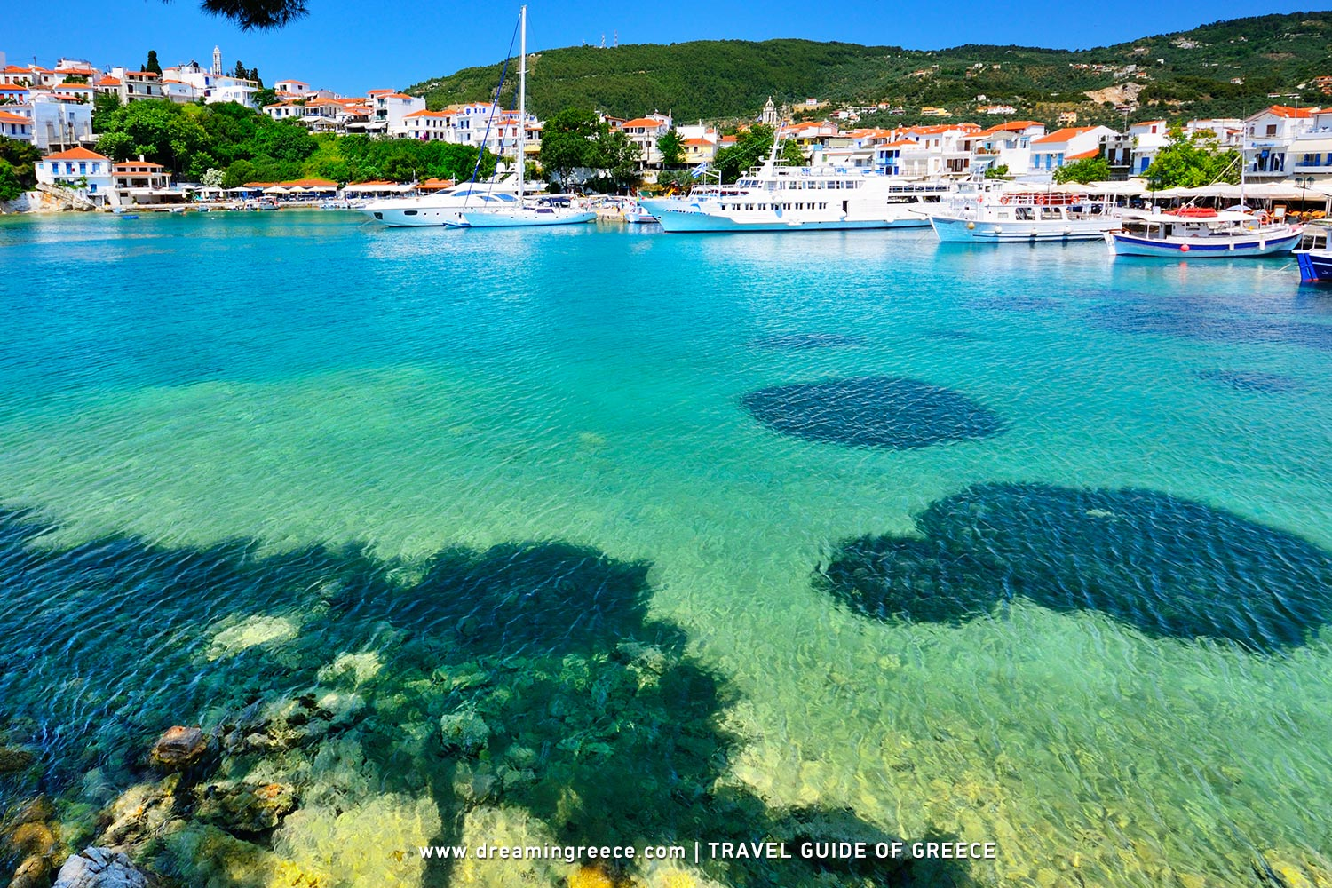 Holidays in the Sporades Islands Greece. Vacations Greek islands.