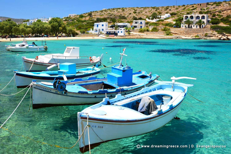 Holidays in Iraklia island Small Cyclades Vacations Greece