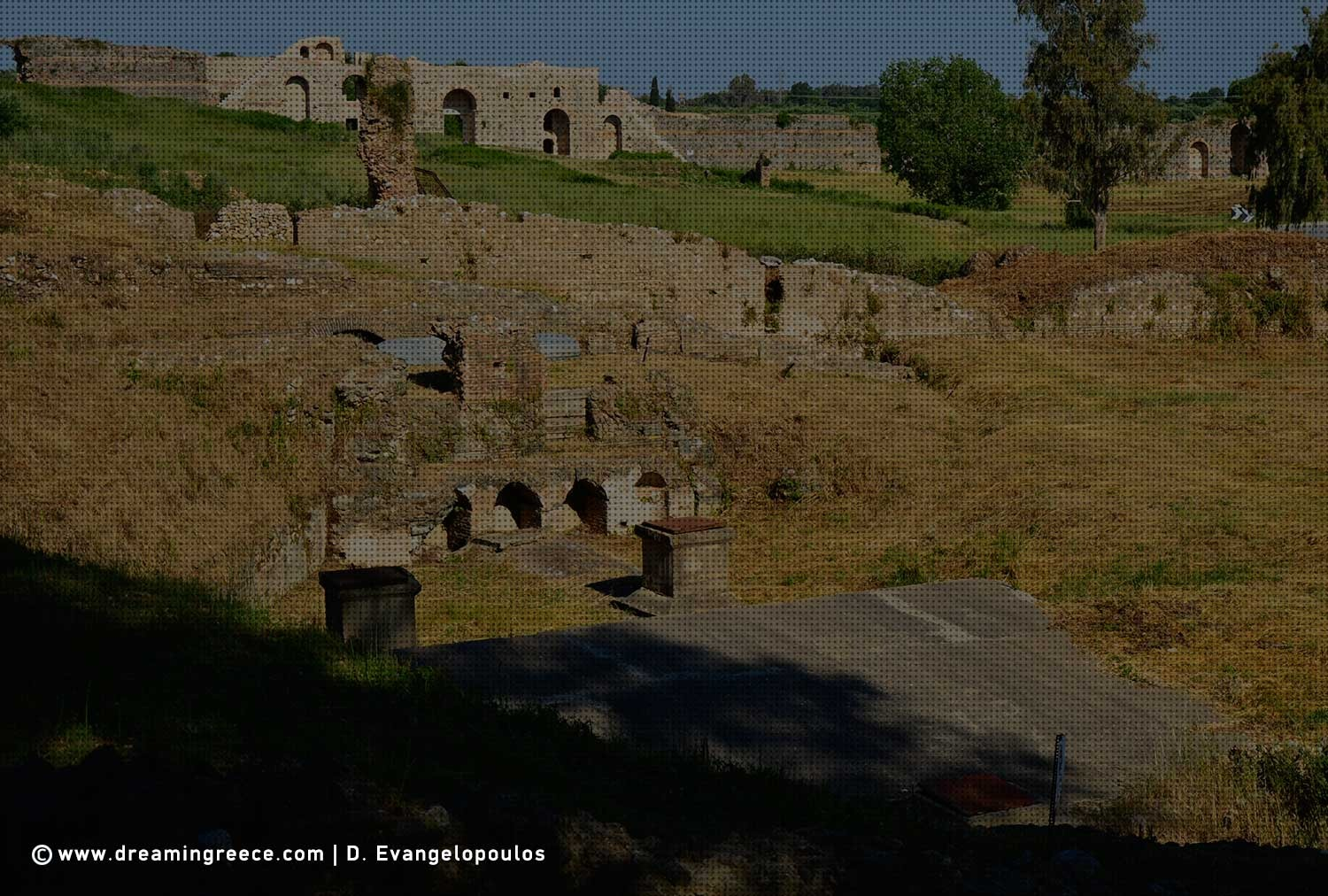 Archaeological Site of Nikopolis Preveza. Archaeological sites in Greece.