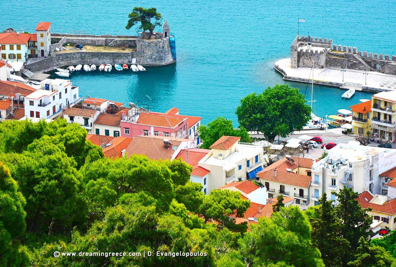 Visit Nafpaktos Central Greece. Holidays in Nafpaktos.