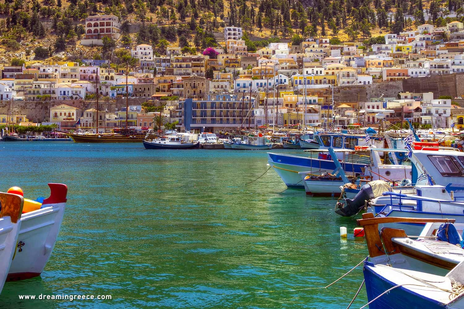 Holidays in Kalymnos island Dodecanese Greece