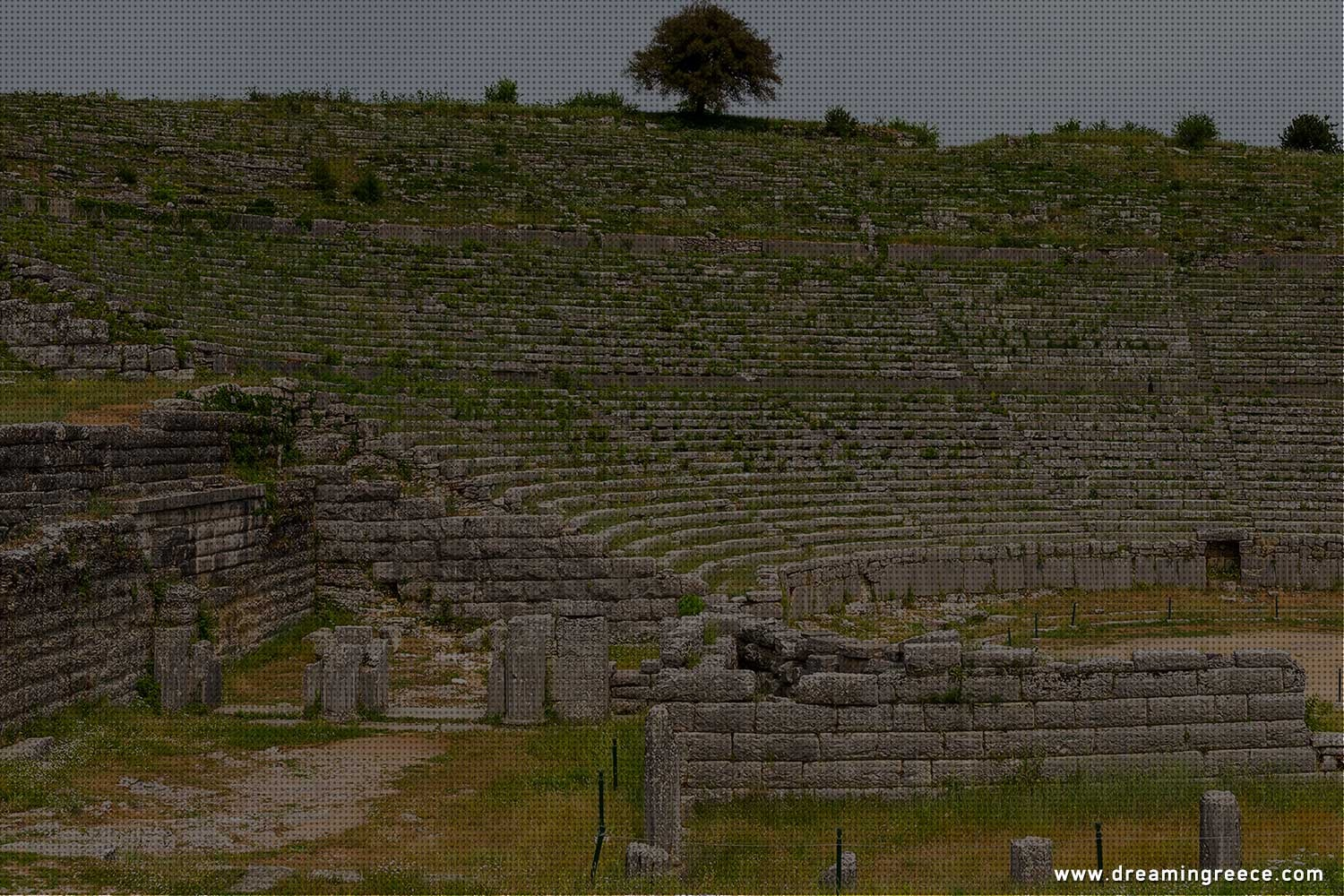 Archaeological Site of Dodona in Epirus. Archaeological sites in Greece.