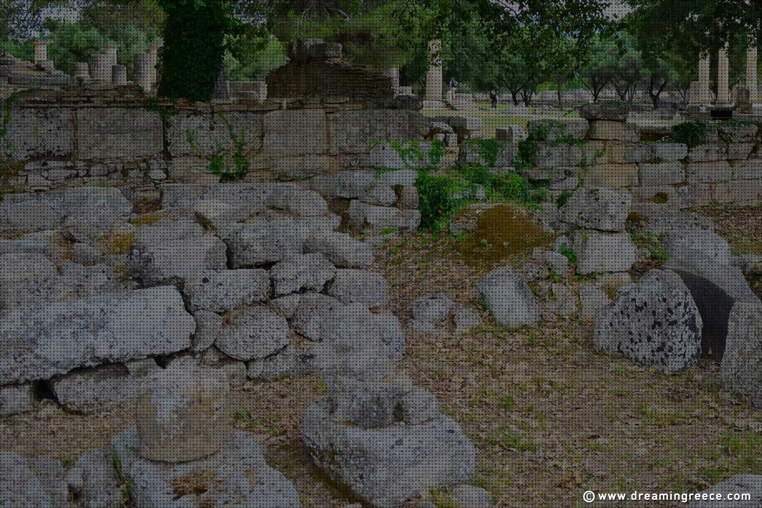 Archaeological Site Ancient Olympia Peloponnese. Visit Greece