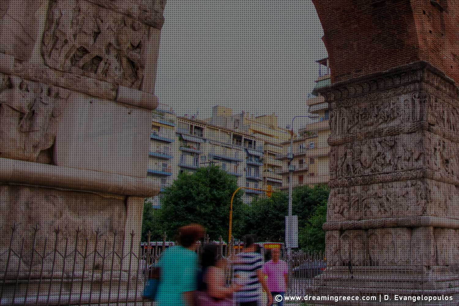 Galerius Arch Thessaloniki. Discover Greece