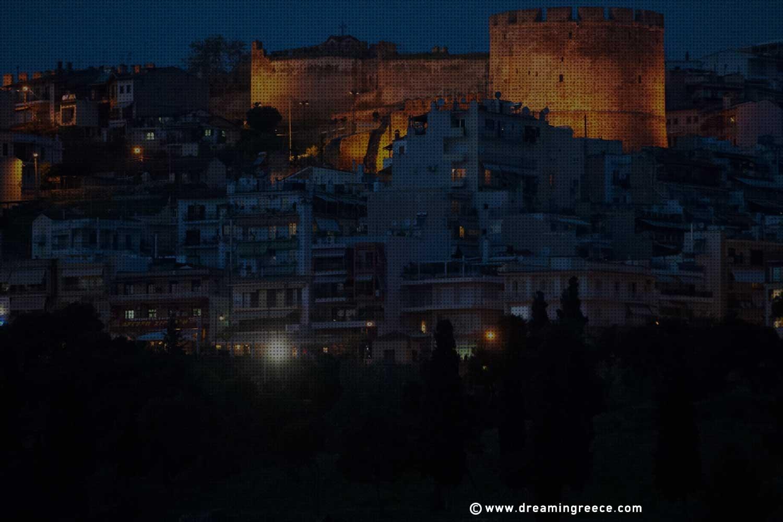 Byzantine Walls-Trigoniou Tower. Discover Thessaloniki and Visit Greece